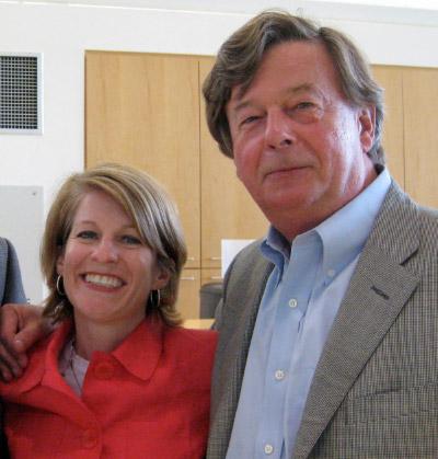 Marnie Hoolahan and Henri Termeer